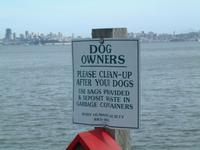 signboard at Sausalito, overlooking SF bay